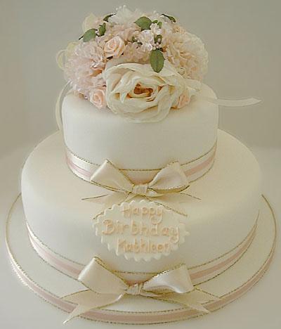 Imaginative Icing Wedding Cakes