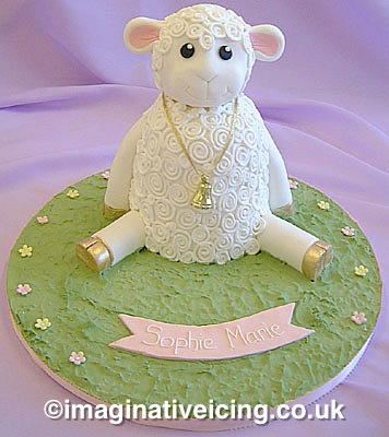 Little Lambs Christening Or First Birthday Celebration
