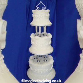 Classic Royal Iced Wedding Cake