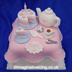Tea and Cake Gift Cake