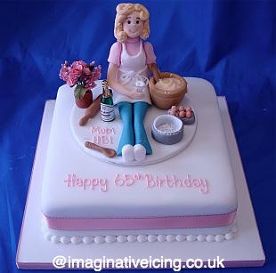 Birthday Baking Lady Imaginative Icing Cakes