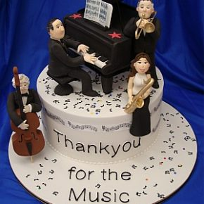 Thankyou for the Music Cake