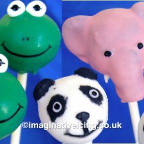 Birthday Animal Cakepops