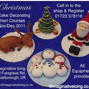 Christmas Cake Decorating Courses 2011 - Register Today!