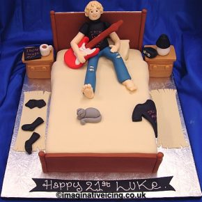 Boys Bedroom Birthday Cake