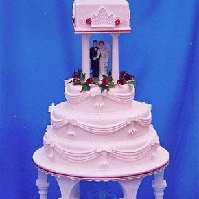 Church Spire Wedding Cake
