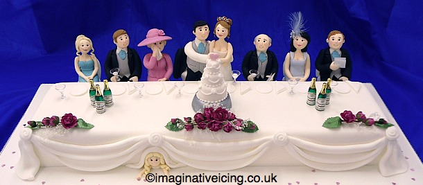 Wedding Top Table Cake