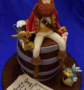 Pirate of the Year Cake