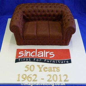 Chesterfield Sofa - Furniture - Sinclairs 50th Anniversary Cake