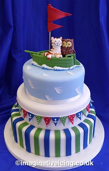 Imaginative Icing Cakes