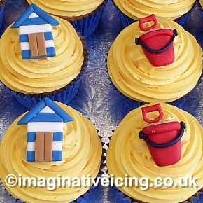 Traditional British Seaside Resort Cupcakes