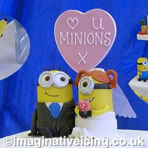 Minions Wedding Cake