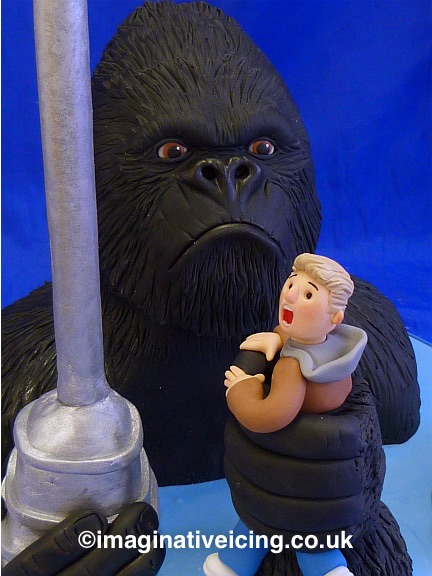 King Kong Gorilla Birthday Cake