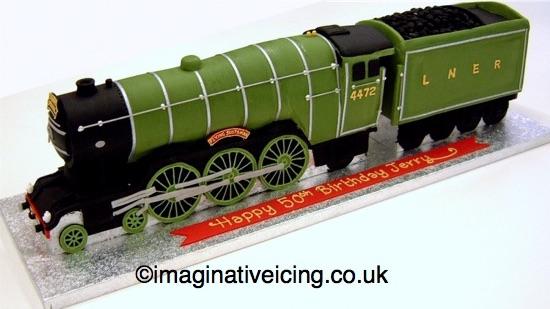 Steam Train Cake Tin